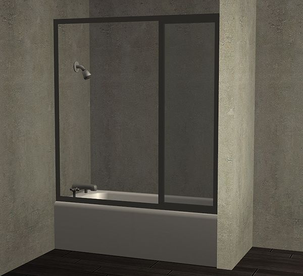 Modern Shower/Tub With Sliding Glass Door. GlastürenBrilleBadezimmerSliding  Glass DoorShower TubModern ShowerSims 2