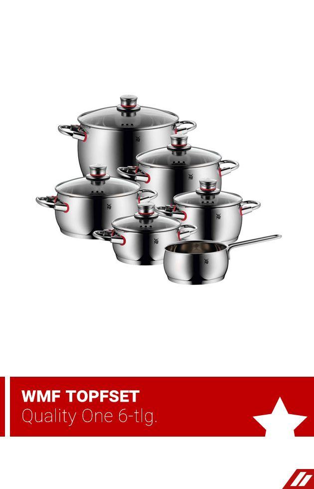 Wmf Topfset Quality One 6 Tlg Herd Fleischtopf Geschirrspuler