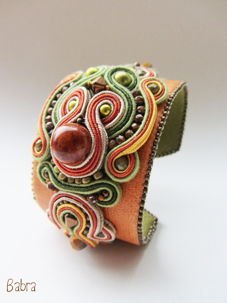 SOUTACHE KIT- Soutache Embroidery- Marrakesh Bracelet 3.. $70.00, via Etsy.