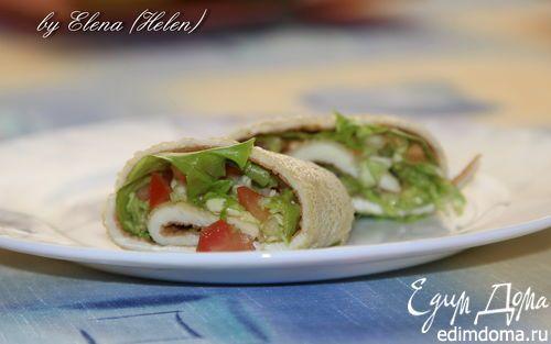 Утренние яичные роллы | Кулинарные рецепты от «Едим дома!»