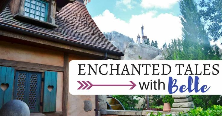 Enchanted Tales with Belle will give you quality time with the princess, a photo opt, and access to her cottage as well as the Beast's library! It is worth checking out!