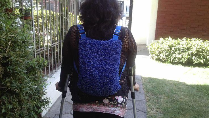 Mochila bolso Anti-Robo con cierre principal oculto