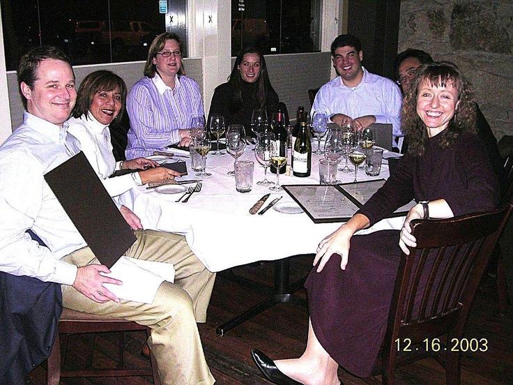Dinner with the Ol' Mondavi SIA Gang, Cole's Chop House, Napa, CA (circa 2003)
