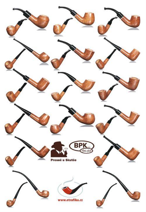 Nová kolekce dýmek z Proseče. New collection pipes of Proseč.