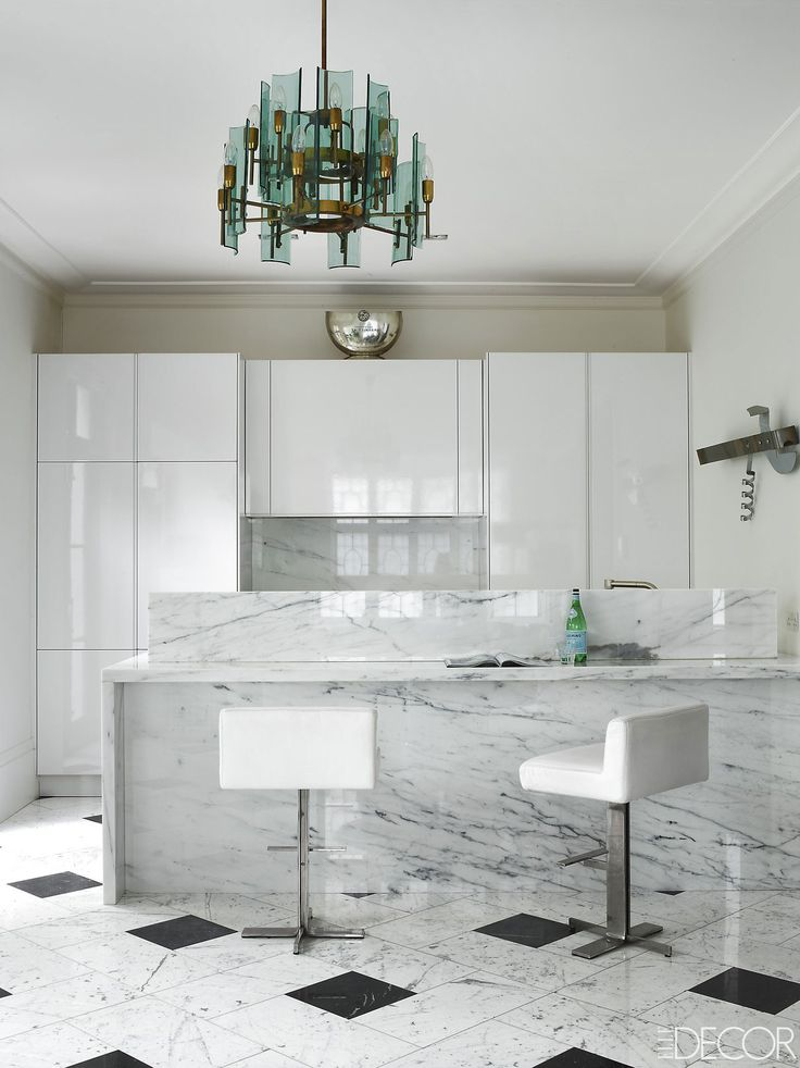 An All White Kitchen Makes A Perfect Backdrop For Unique Lighting. Part 84