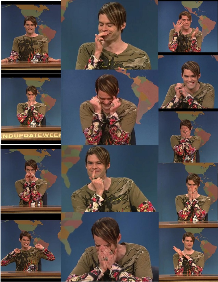 Stefon -- his faces and uncontrollable laughter is what makes him