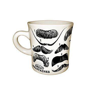 Great Moustaches Mug