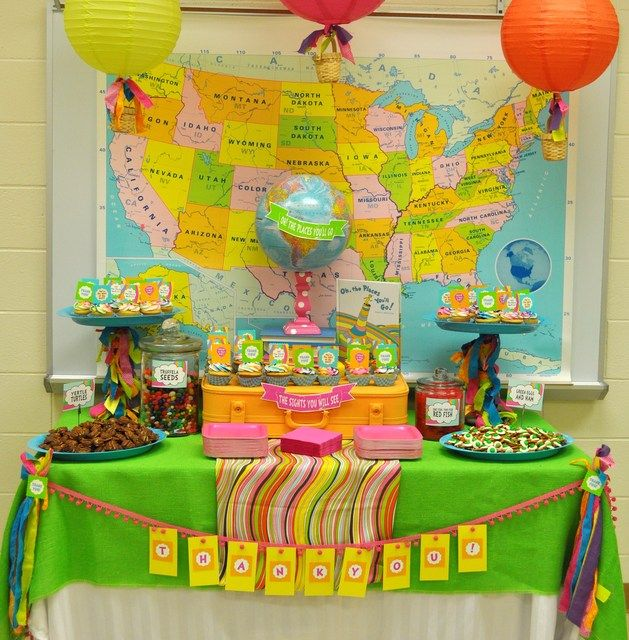 "Photo 1 of 12: Oh! The Places You'll Go / Staff Appreciation ""Oh! The Places You'll Go"" 