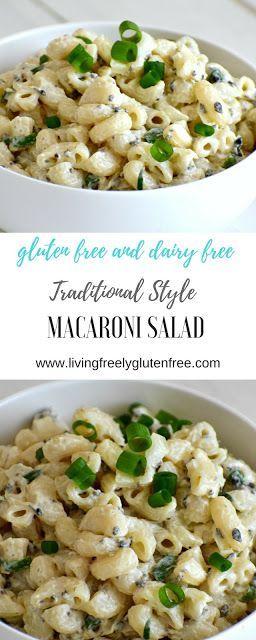 Gluten-free macaroni salad is the perfect accompaniment to barbecue. That tastes like …   – Pasta Rezept