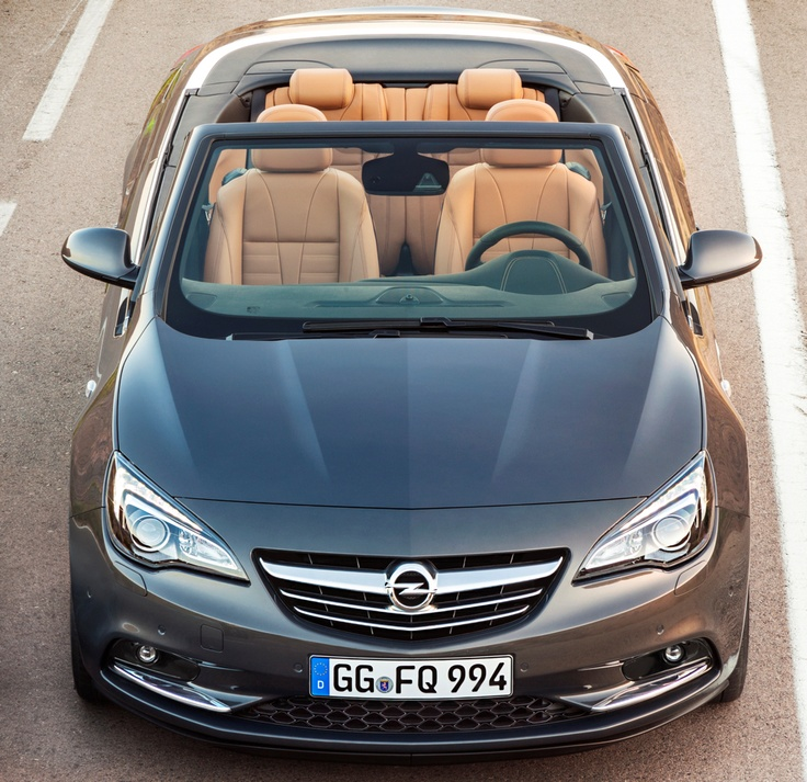 """Le """"Cascada"""" : l'élégant cabriolet haut de gamme d'Opel"""