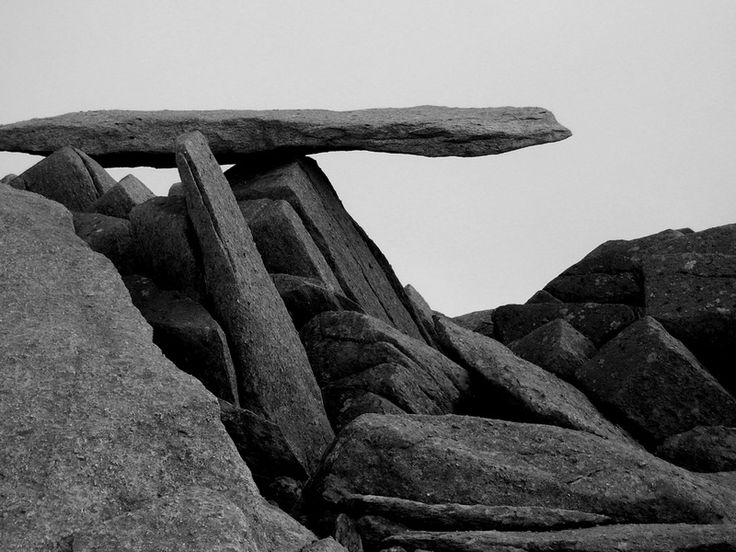 The Cantilever Stone - Glyder Fach - Snowdonia, Wales