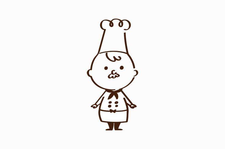 様々なバリエーションで活躍するコックさんのキャラクターデザインサムネイル: