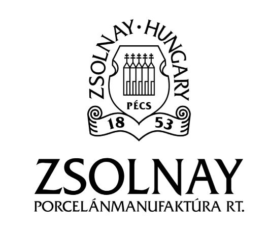 Zsolnay Porcelain and Pottery, Pécs - Hungary. Brand Logo. #zsolnay  #budapest #porcelain #pottery #ceramics #tiles #logo