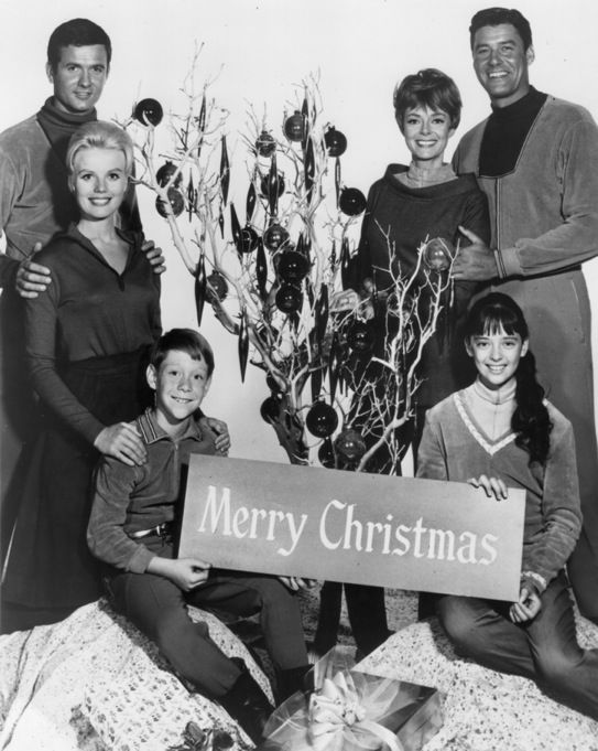 The cast of Lost in Space (1965-1968)