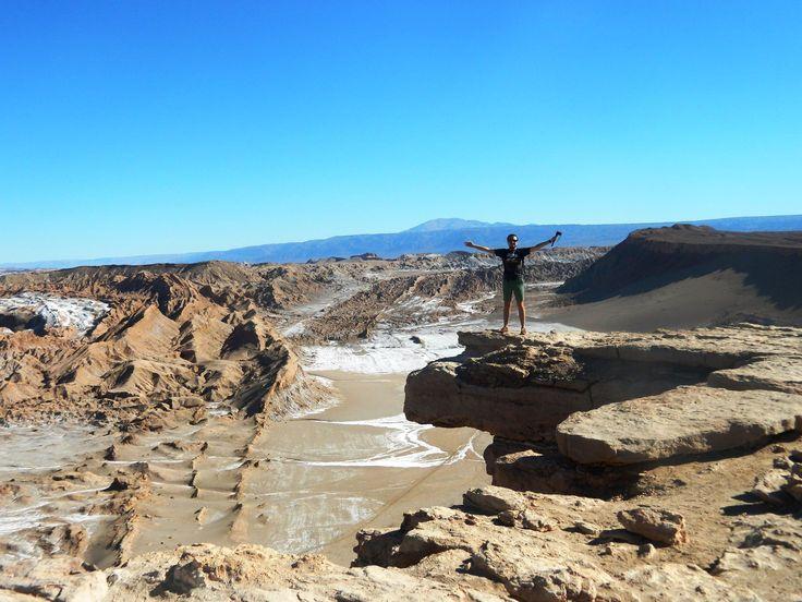 Valle de la luna. Atacama desert. Chile