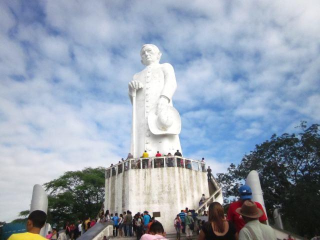 Homenagem ao Padre Cícero em Juazeiro do Norte, Ceará - BRASIL