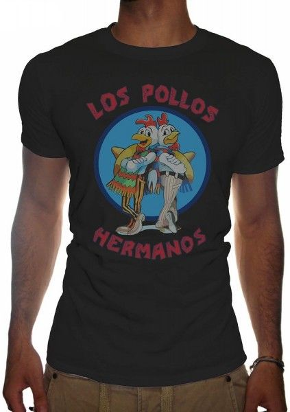 "T-shirt Breaking Bad ""Los pollos hermanos"""
