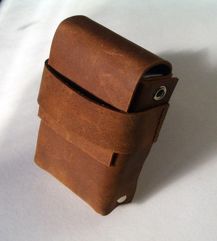 ✖ Кожаный портсигар ручной работы ✖ ✖ Leather cigarette case handmade ✖