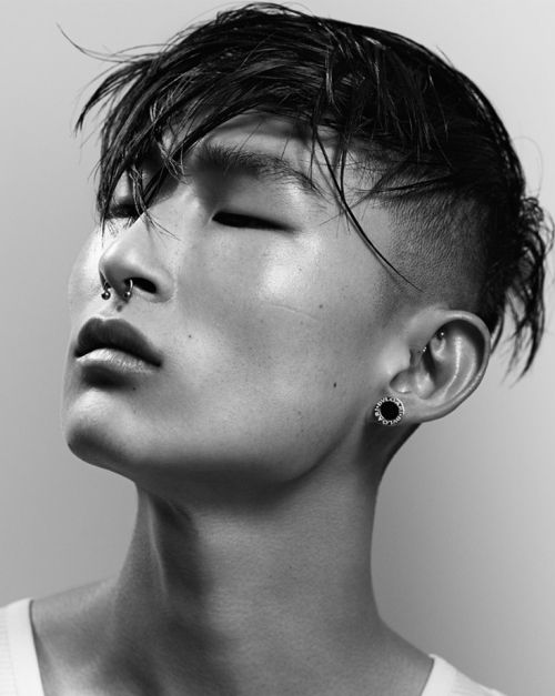 on the runway — models-faces: Sang Woo Kim // (Followers...