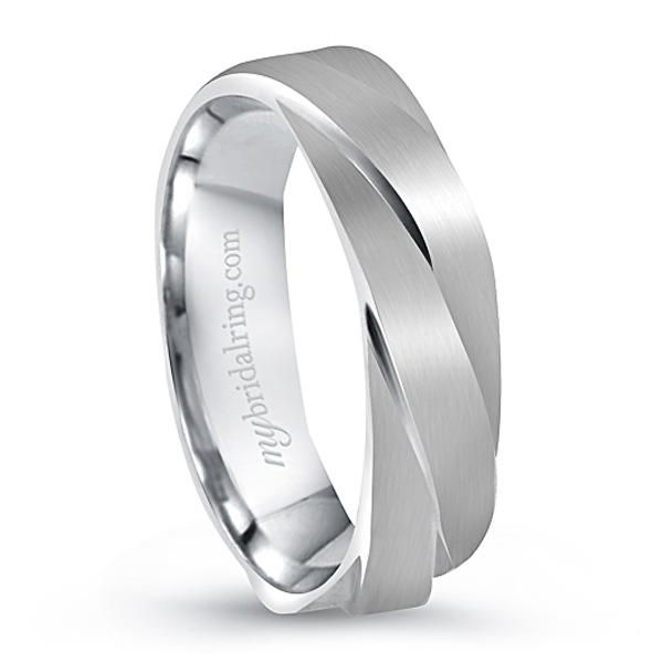 unique design engagement ring and wedding bands for men in 14k white gold our price