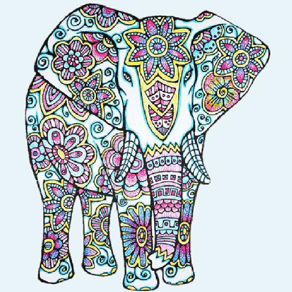 120 Best Elephants Images On Pinterest | Elephant Paintings