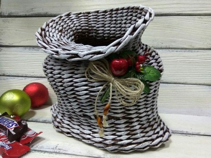 Плетение из газет Наталия Демидченко