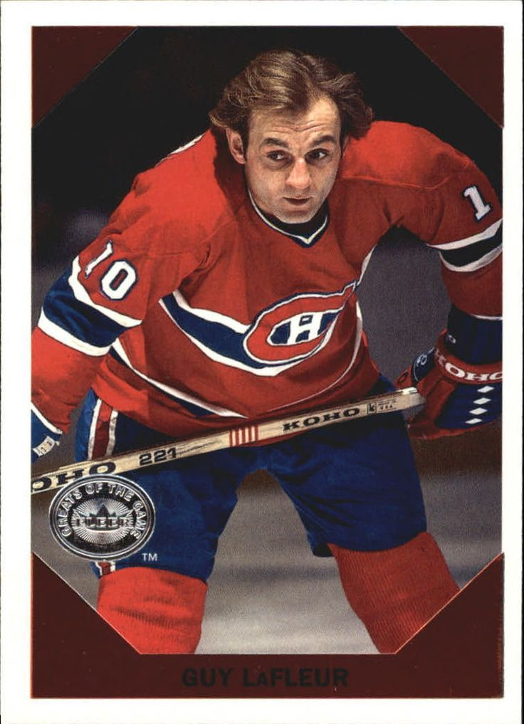 2001-02 (CANADIENS) Fleer Greats of the Game Retro Collection #5 Guy LaFleur   eBay