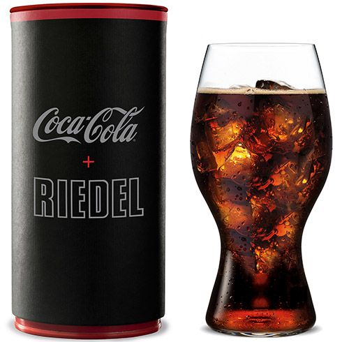 Inspired by the iconic curves of the original Coca-Cola contour bottle, this glass is designed to enhance the drinking experience.
