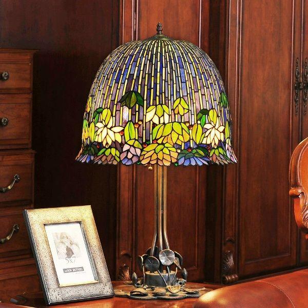 Современные лампы в стиле Тиффани