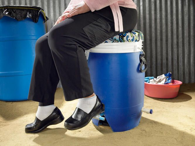How A Foot-Powered Washing Machine Could Change Millions Of Lives | Co.Design | business + design