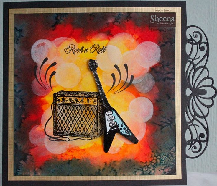 Created using Sheena Douglass stamps from #crafterscompanion