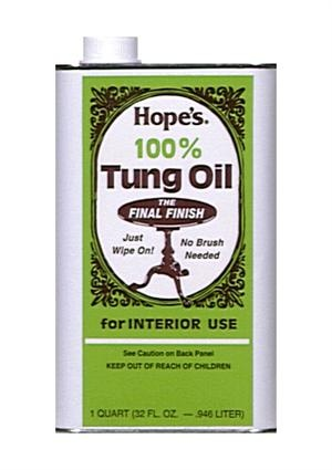 100% Pure Tung Oil