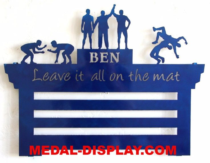 Wrestling Medal Display Plaque: Personalized Medal Rack: Wrestling Medals Holder #gymnastics-medal-hanger #gymnastics-medal-holder #gymnastics-medals-display #medal-display #medal-hanger #medal-hanger-gymnastics #medal-hangers #medal-holder #medal-holder-gymnastics #medal-holder-wrestling #personalized #personalized-gymnastics-medal-display #wrestling-medal-display #wrestling-medal-display-rack #wrestling-medal-holder #wrestling-medals-holder