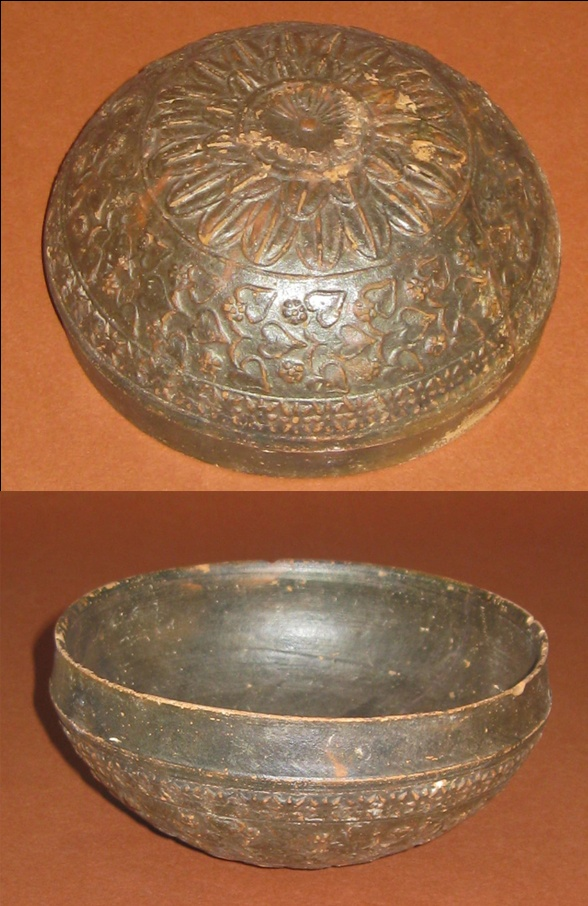 Megarian Ware Bowl CULTURE / REGION OF ORIGIN: Hellenistic, Greece or western Asia Minor. possibly of Central Italian manufacture. DATE: 2nd – 1st Century BCE http://www.clioancientart.com/catalog/i203.html