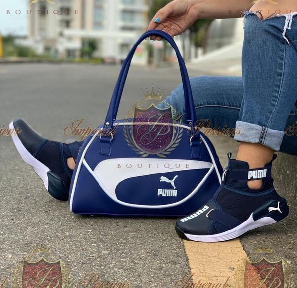 Custom Puma Fierce Strap Set For Sale In Venice Fl Offerup Puma Shoes Women Nike Shoes Blue Puma Shoes Outfit