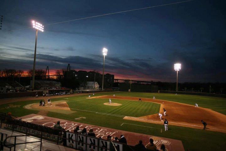Sun Set at College of Charleston Baseball Field!