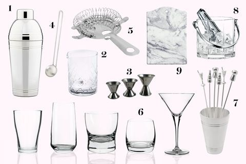 What You Need for Bar Cart - Bar Cart Essentials