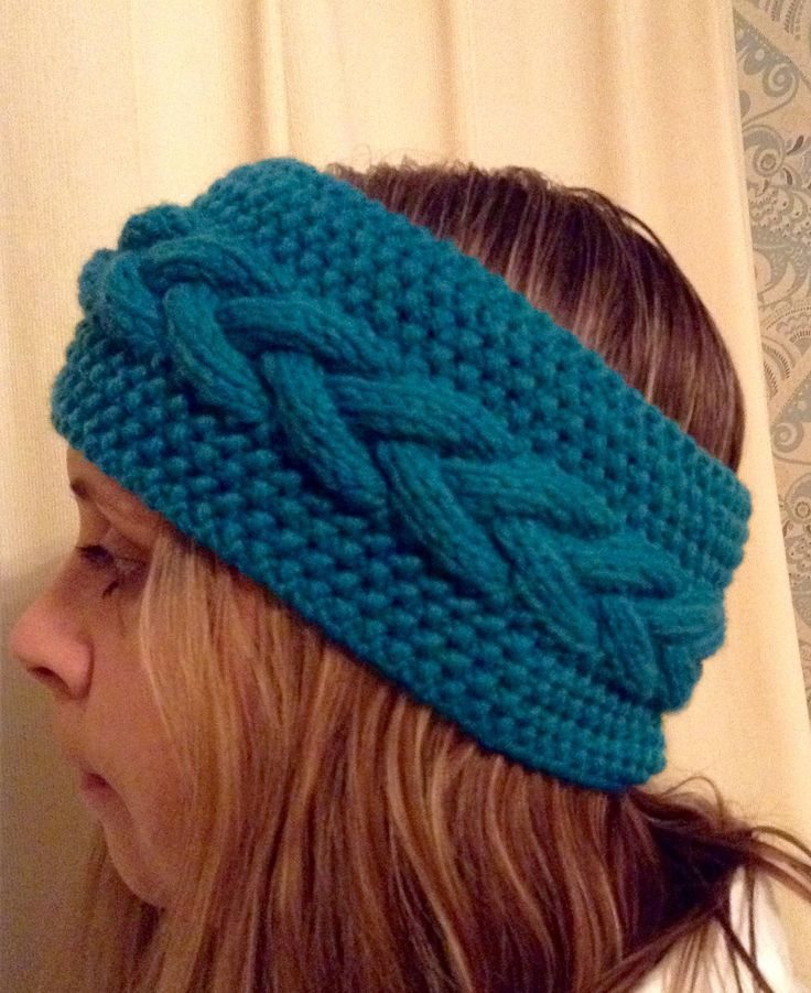 A personal favourite from my Etsy shop https://www.etsy.com/uk/listing/563581931/knitted-aran-design-headband
