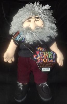 1998 Collectible Grateful Dead Jerry Garcia Doll Gund Liquid Blue Limited Run