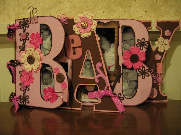 """Other: My daughter's """"baby"""" word album Bo Bunny Word Album"""