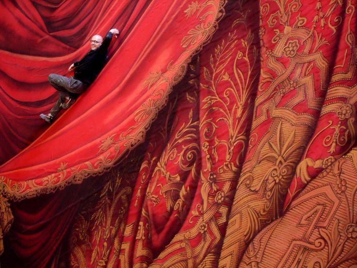 Le Nozze Di Figaro. Image of the working progress of a theatre project.