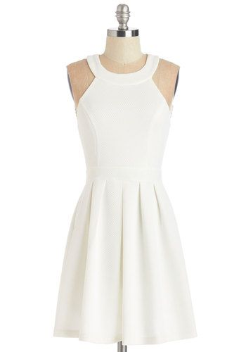Mingling With Moxie Dress. A social butterfly like you RSVPs with an enthusiastic yes! #gold #prom #modcloth