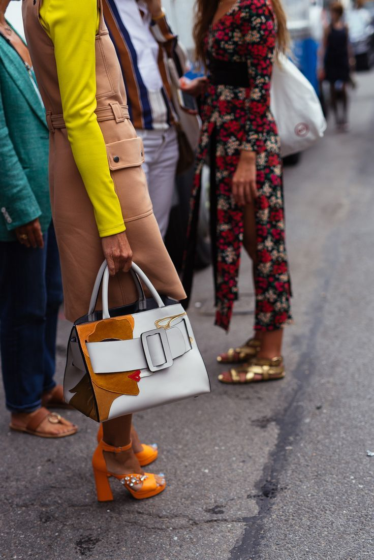 d6244f77849 The Best Bags of NYFW Spring 2016 Street Style – Day 4: PurseBlog ...