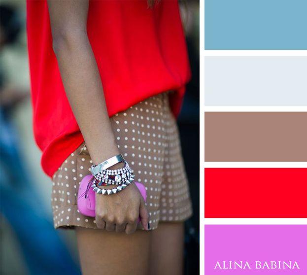 Alina Babina color palettes