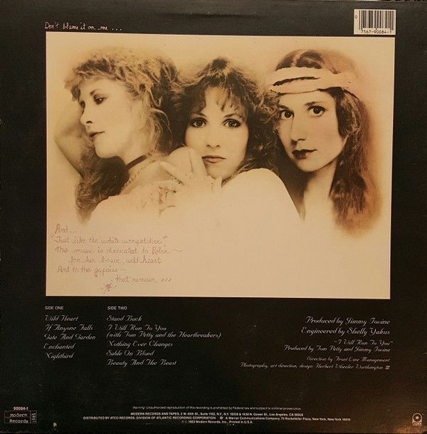 Stevie Nicks The Wild Heart Releases Discogs 1983 Stevie Nicks Stevie Nicks Albums Vinyl Record Album
