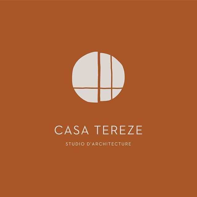 Casa Tereze Logo Design Simple And Chic Modern Logo Wood Logo