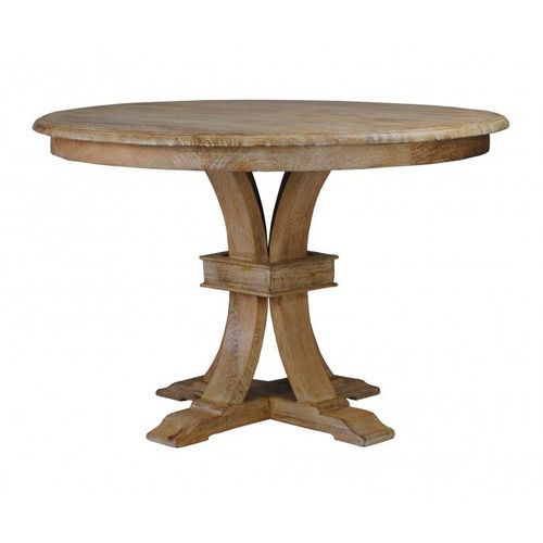 French Country Natural Oak Dining Table 120cm ($3000)