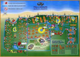 Resultado de imagem para grand palladium bavaro punta cana mapa