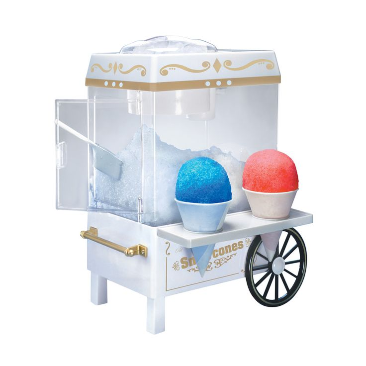 Everyone loves an old fashioned snow cone! Grab this vintage snow cone maker for your favorite foodie.