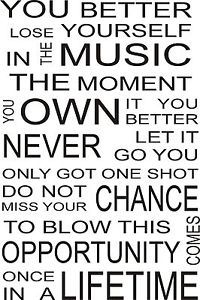 eminem posters lose yourself in the music - Google Search